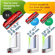 Load image into Gallery viewer, Magnetic Window Cleaner - The Glider