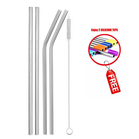 Image of Reusable Drinking Steel Straw