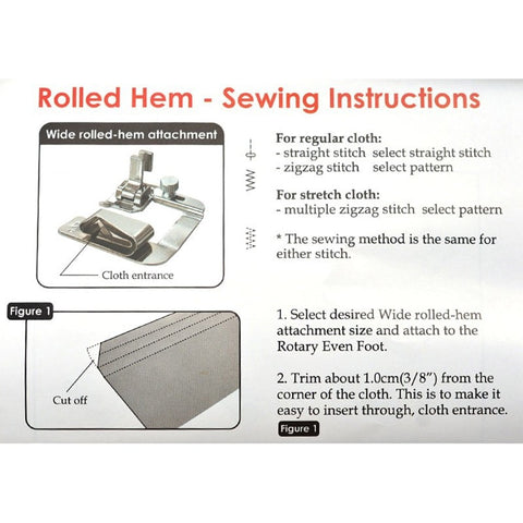 Image of Easy Hemming Sewing Foot