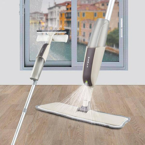 Image of 2 In 1 Mop And Window Cleaning Spray Set