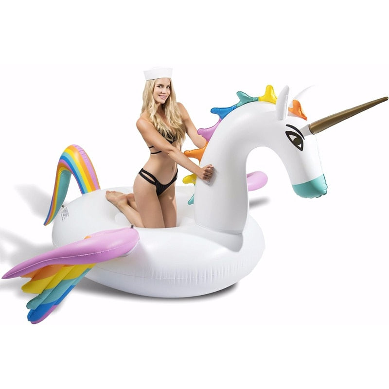 Giant Pegasus Inflatable Unicorn Pool Float