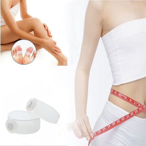 Image of Magnetic Toe Rings Slimming Therapy