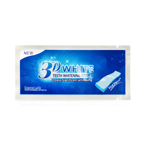 3D Tooth Bleaching Whiter Strips Essentials Gel