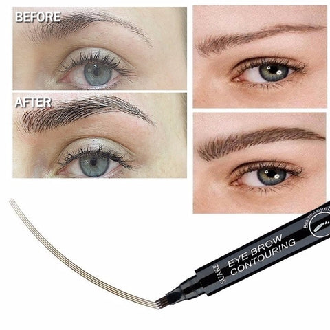 Image of Fork Tip Microblading Eyebrow Enhancer Pen