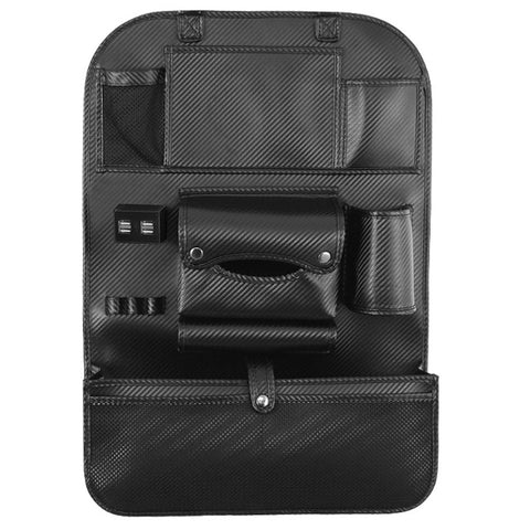 Multi-Purpose Car Rear Seat Organizer