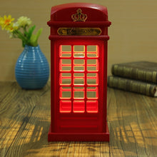 Load image into Gallery viewer, London Telephone Booth LED Night Light