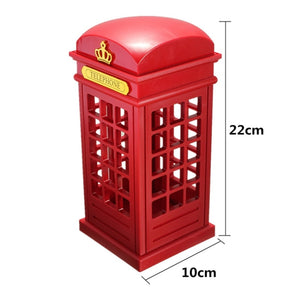 London Telephone Booth LED Night Light