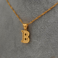 Load image into Gallery viewer, A - Z Initial Letter Necklace
