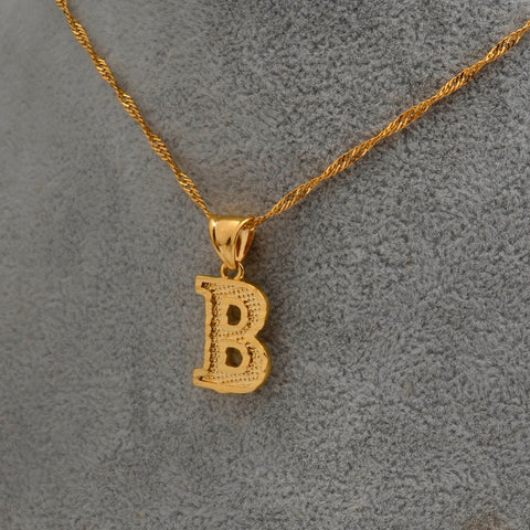 A - Z Initial Letter Necklace