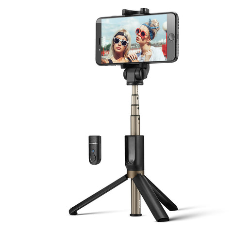 Image of 3 in 1 Wireless Bluetooth Selfie Stick