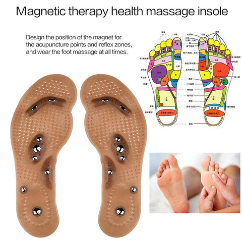 Image of Acupuncture Fat Burning Insoles - Magnetic Foot Acupuncture Point Therapy