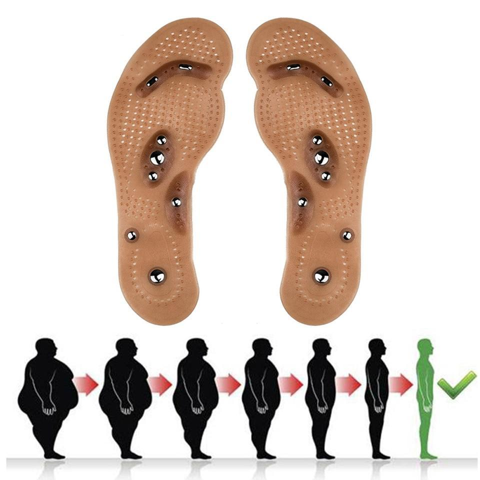 Acupuncture Fat Burning Insoles - Magnetic Foot Acupuncture Point Therapy