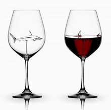 Load image into Gallery viewer, 【Christmas Sale-50% OFF】SHARK RED WINE GOBLET (Handmade)