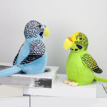 Load image into Gallery viewer, Talking and Voice Mimicking Plush Parrot – Interactive Toy