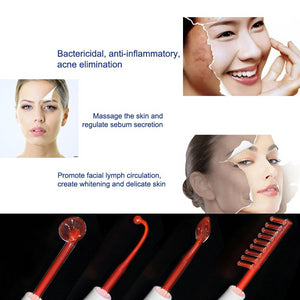High Frequency Electrotherapy Wand