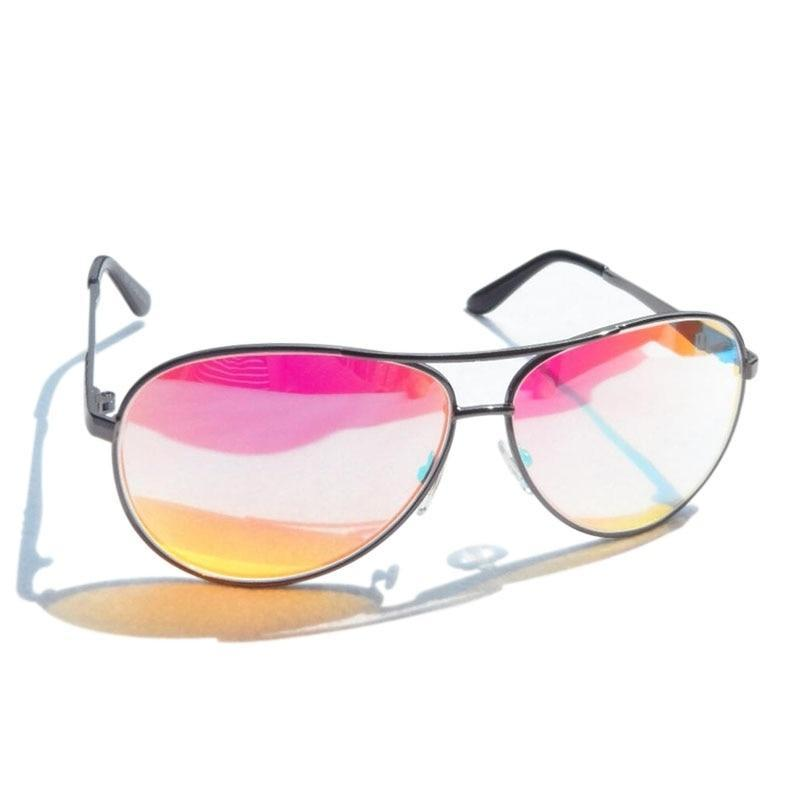 b4505a192 Aviator Color Blind Red Green Corrective Glasses