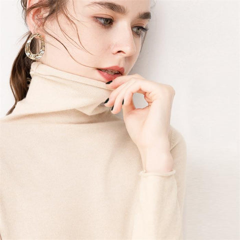 Image of Women High Neck Sweater
