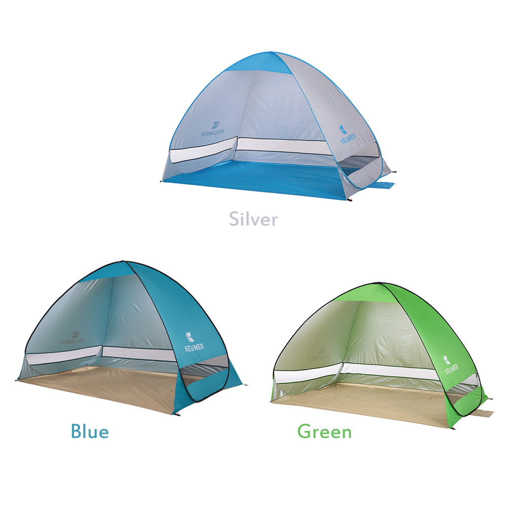 Anti UV Outdoor Beach Tent-Automatic Pop-up
