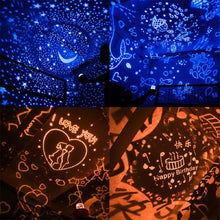 Load image into Gallery viewer, Fish Stars LED Night Light Projector