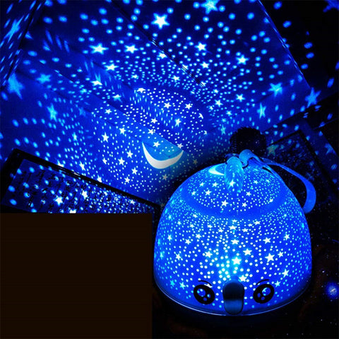 Fish Stars LED Night Light Projector