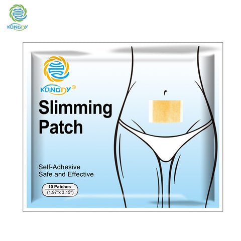Image of Navel Slimming Patch for Fat Burning and Detox