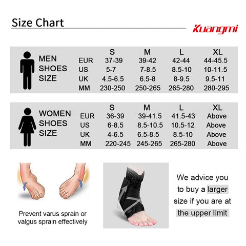 Image of Soccer Ankle Support Brace