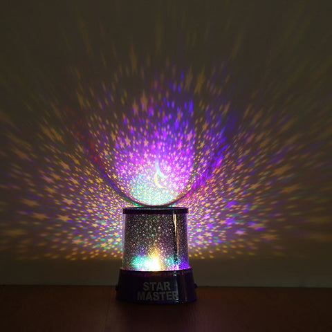 LED Starry Sky Night Projector Lamp