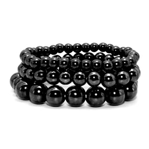 Black Stone Bio Magnetic Weight Loss Therapy Bracelet
