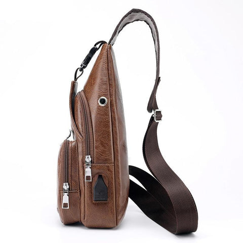 Image of Luxury Cross body bag with USB Limited Edition