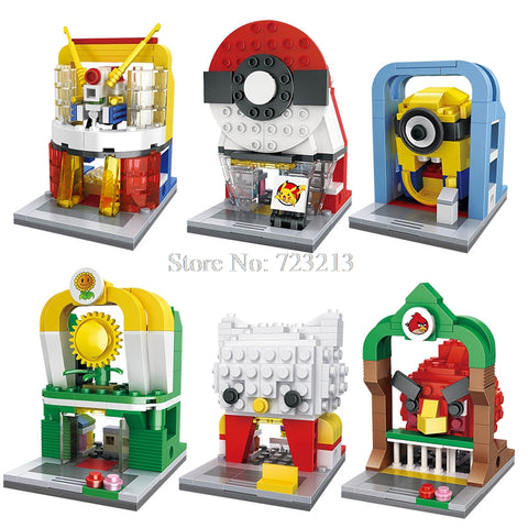 Mini City Street 3D Educational Building Blocks Toys
