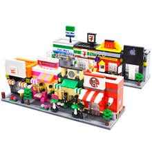 Load image into Gallery viewer, Mini City Street 3D Educational Building Blocks Toys