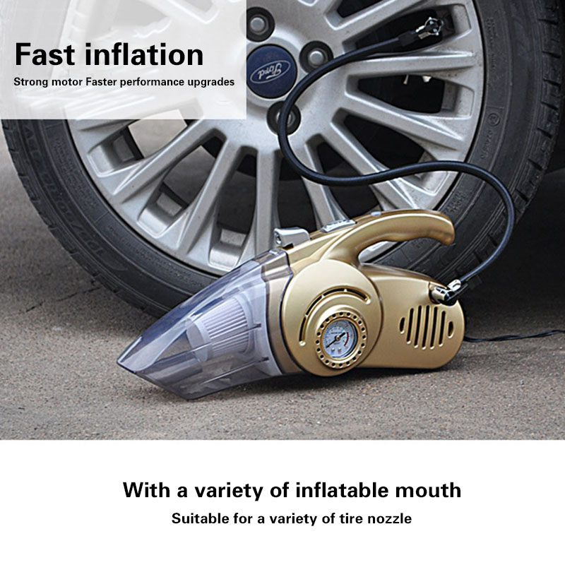 4-IN-1 CAR VACUUM