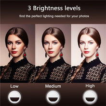 Load image into Gallery viewer, Selfie Flash Ring Light