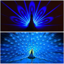 Load image into Gallery viewer, Peacock Night Light Projector