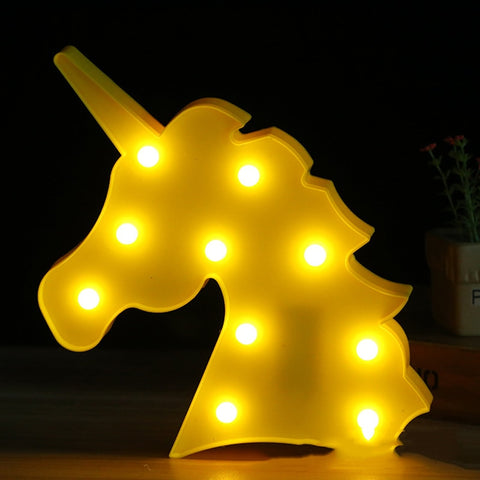 Image of Unicorn Head LED Night Light