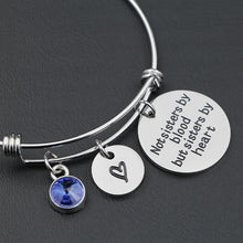 Load image into Gallery viewer, Birthstone Charms Best Friends Bracelet