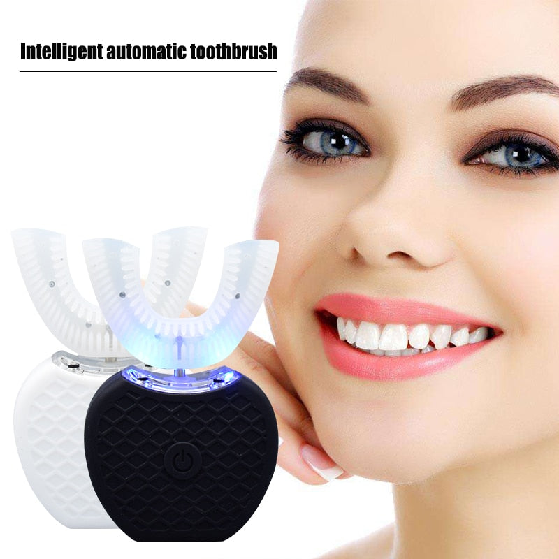 Intelligent Automatic Electric Toothbrush 360 Degree Teeth Whitening
