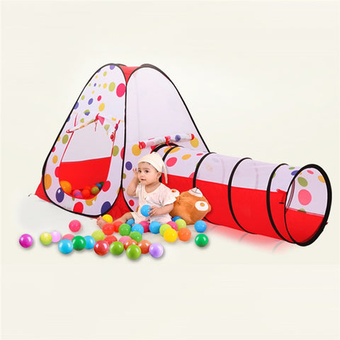 Image of Kids Tunnel Tent 3 Pc