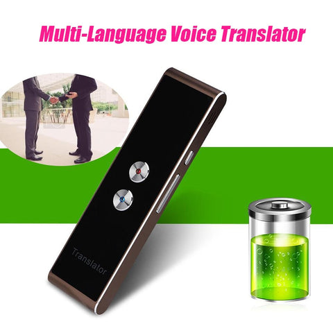 Image of Portable Language Translator - Learning Multi-language