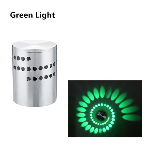 Image of Spiral LED Wall Decorative Light
