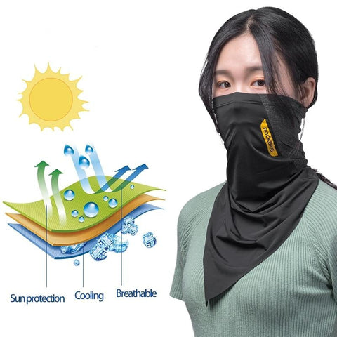 Image of Face Bandanna with Sunscreen