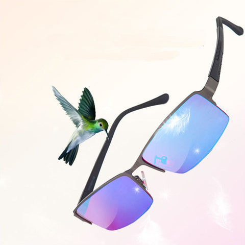 Image of Green Color Blind Corrective Glasses