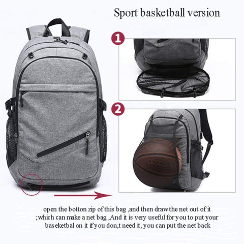 Image of Multifunctional Basketball Backpack