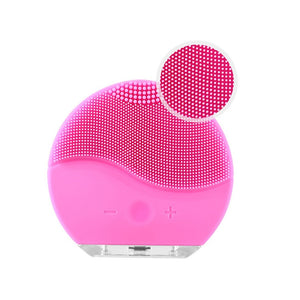 Ultrasonic Electric Facial Cleansing Face Washing Brush