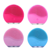 Load image into Gallery viewer, Ultrasonic Electric Facial Cleansing Face Washing Brush
