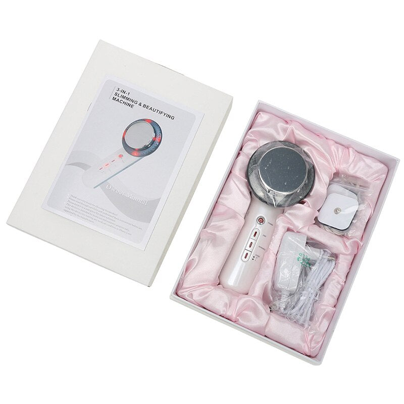 3 in 1 EMS Infrared Ultrasonic Cavitation Slimming & Beautifying Machine
