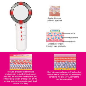 Ultrasonic Cavitation Machine Fat Burner Cellulite Treatment