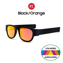 Load image into Gallery viewer, Polarized Slappable Bracelet Sunglasses For Men & Women