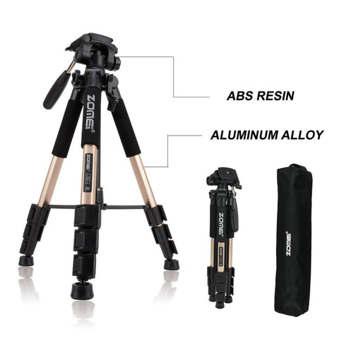 Image of Lightweight Professional DSLR Camera Tripod Stand