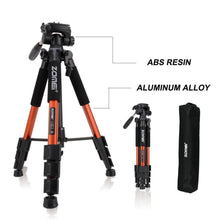 Load image into Gallery viewer, Lightweight Professional DSLR Camera Tripod Stand